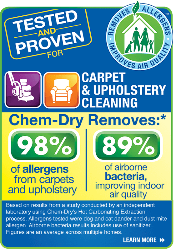Chem-Dry Allergen Study Findings